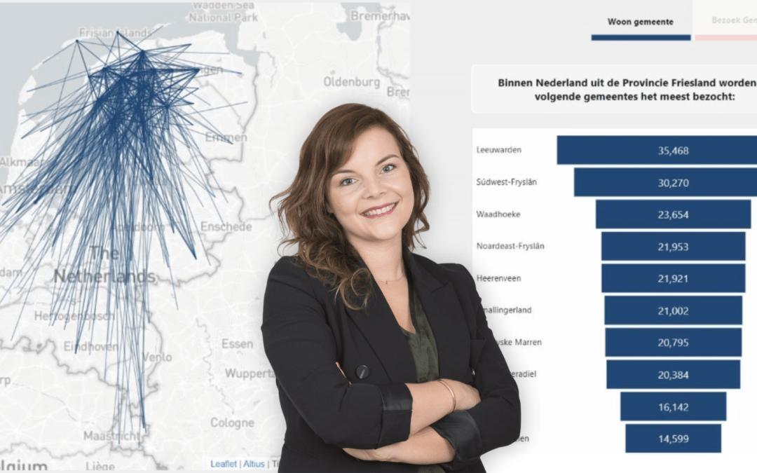 Data scientist Jetty Komrij:Bouwen aan een slim coronadashboard