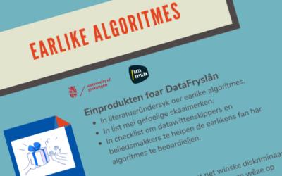 DataFryslân, studenten en CBSontwikkelen een checklist eerlijke algoritmen